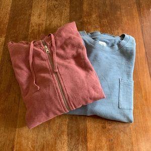 GAP Men's Sweater & Sweatshirt Bundle Size Large